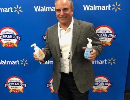 Bioarmor at Walmart's Buyer event in Bentonville,AR